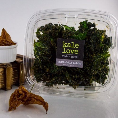 Kale Chips – Ghost Chili 'Notcho' (Seattle, WA)